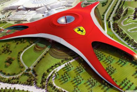 Yas Leisure Dr - Abu Dhabi-Ferrari World Abu Dhabi
